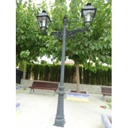 Waterproof mogul base 54W led garden light