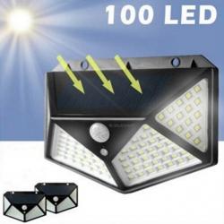 outdoor led solar wall light with PIR sensor for park