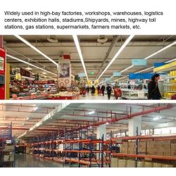 100watt linear led high bay light for warehouse