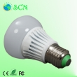 7watt e26/e27 led bulb light for replace 20W CFL