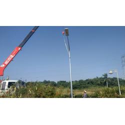 CE ROHS 65watt solar panel integrated Solar street light for City Road