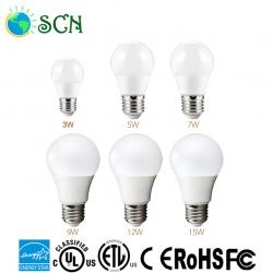 ETL energy star E26 9watt led bulb light for supermarkets