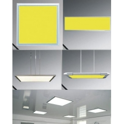 75watt square panel light for replace traditional Grille Lamp