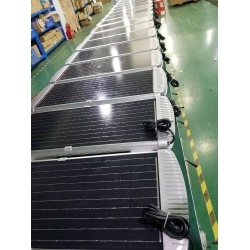 140watt solar panel integrated Solar street light on highway with CE ROHS