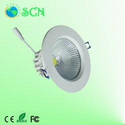 Dimmable 40W COB led down light for hotel