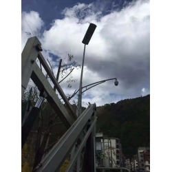 100watt solar panel integrated Solar street light on highway with CE ROHS