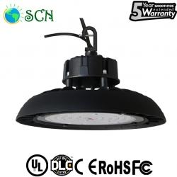 UL DLC 150watt UFO led high bay light with 2m cable