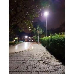 65watt solar panel integrated Solar street light for highway