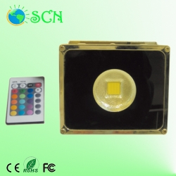 outdoor RGB 30W LED Flood light for parks