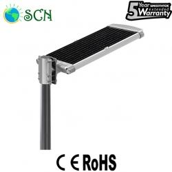 CE ROHS 30watt integrated Solar street light for Park