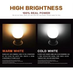 Energy star E26 5watt led bulb light for cafe