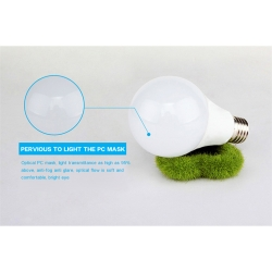 ETL E26 7watt led bulb light for break room