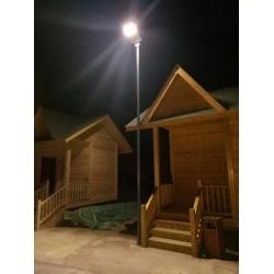 CE ROHS 50watt solar panel integrated Solar street light for Park
