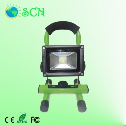 Rechargeable and portable 50W COB LED Flood light