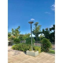CE ROHS 20watt Solar courtyard Light for posts