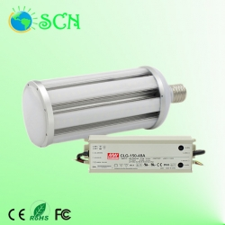 High power Waterproof E40 120W led garden light with external meanwell power supply
