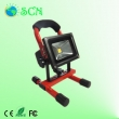 Rechargeable and portable 10W COB LED Flood light