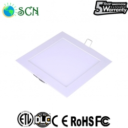 6watt square panel light for replace traditional down light