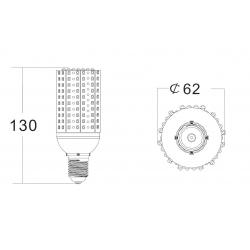 3528 LED chip 12W led corn light