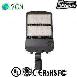 UL DLC 300watt led shoebox light for gymnasium