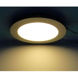 6.5inch 18watt round panel light for replace traditional down light