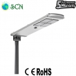 CE ROHS 70watt Solar panel power integrated Solar street light for Village Road