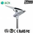 50watt solar panel separated Solar street light on highway