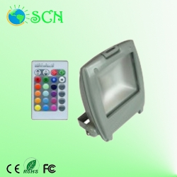 RGB 50W LED Flood light for parks